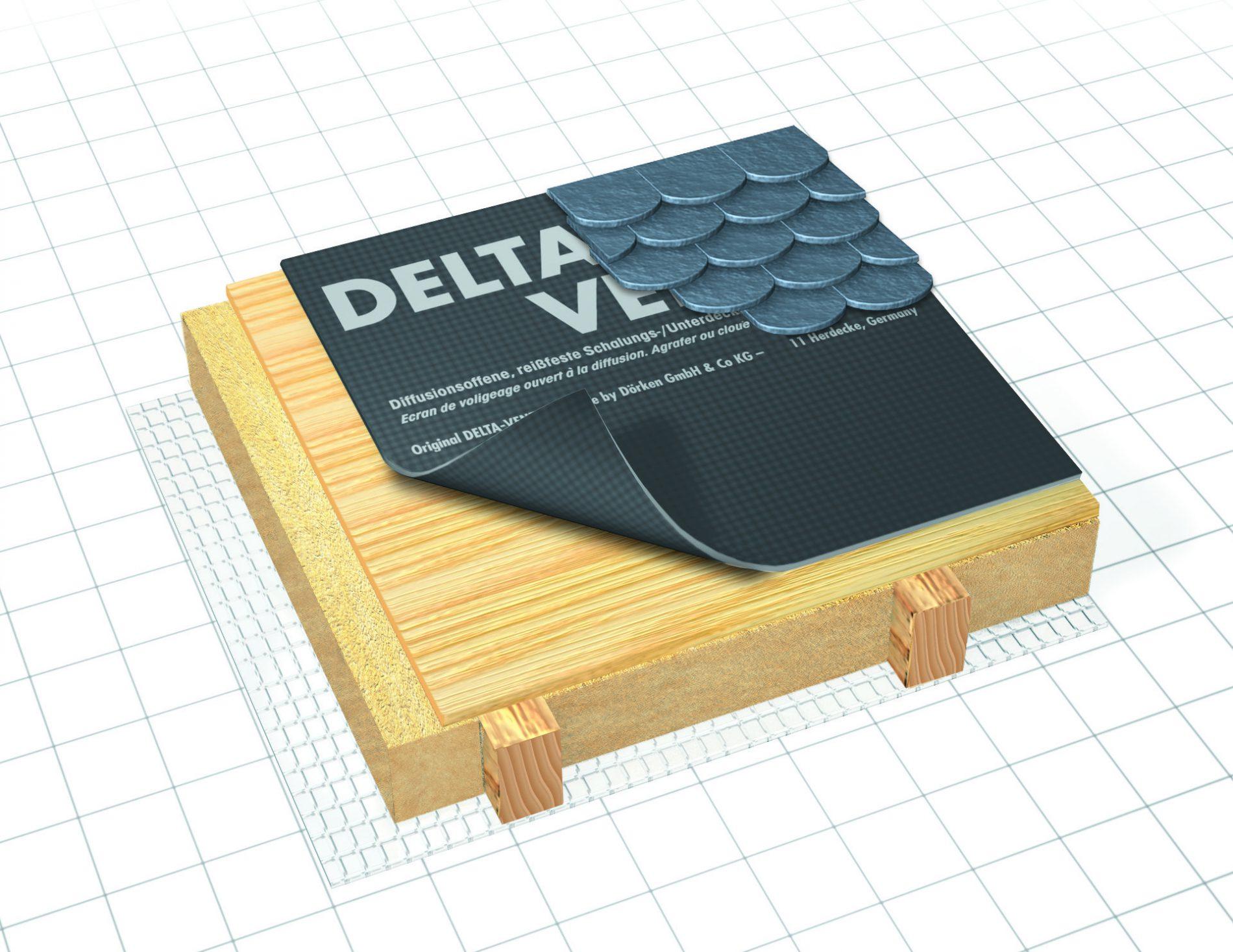 Vents Roofing Underlayment Delta 174 Academy