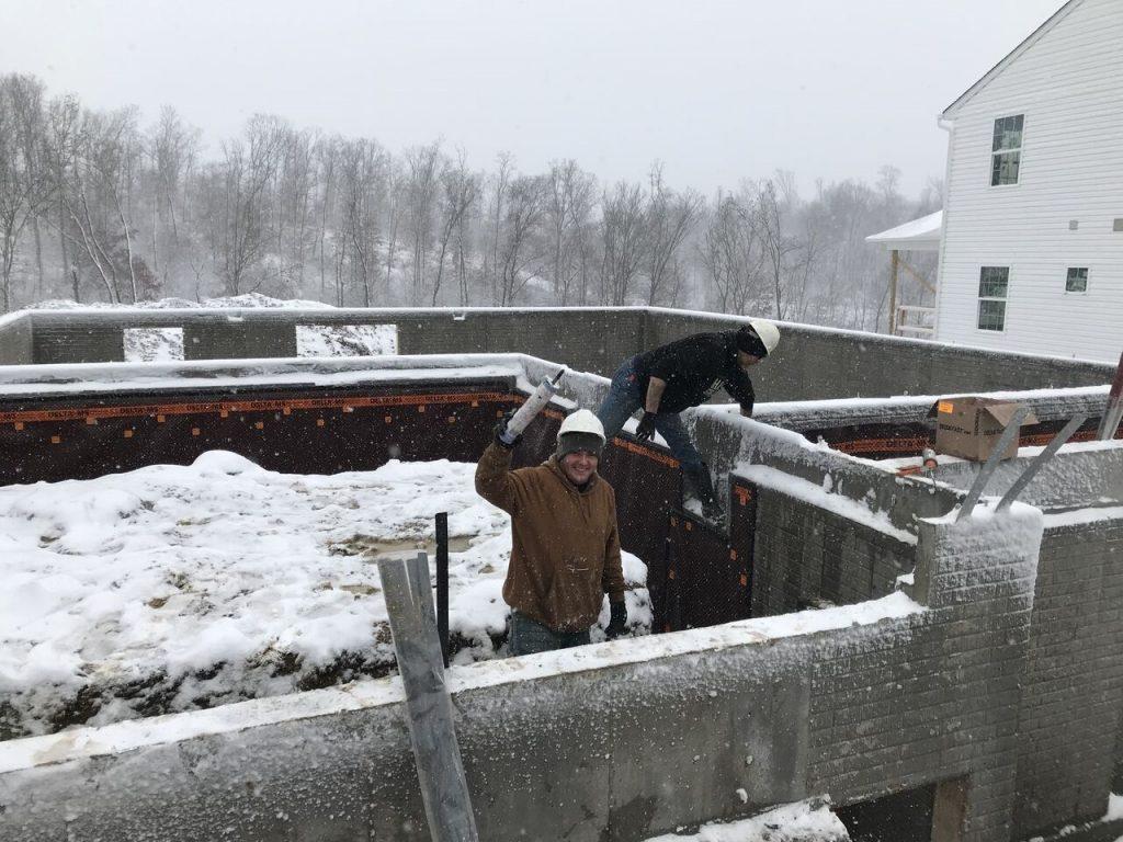 DELTA-MS Winter Installation